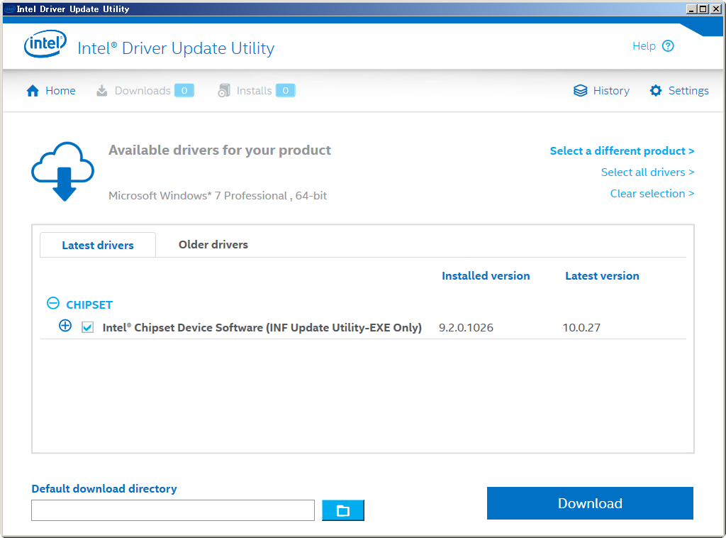 Intel Chipset Device Software (INF Update Utility)