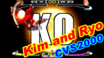 キム・カッファン(Kim Kaphwan) and リョウ・サカザキ(SAKAZAKI Ryo) Playthrough - CVS2000 [GV-VCBOX,GV-SDREC]