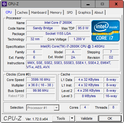 Core i7-2600K_Windows10