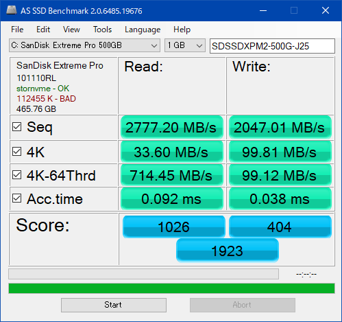 AS SSD Benchmark_SDSSDXPM2-500G-J25