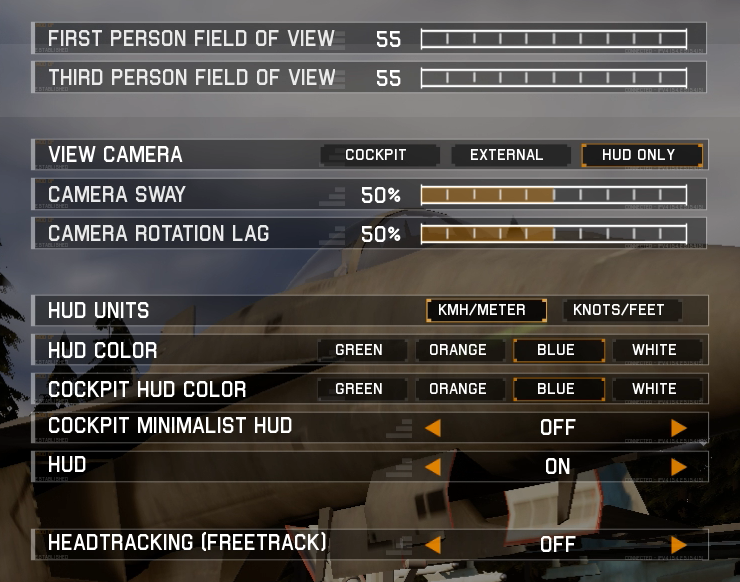 Settings>GamePlay_ProjectWingman